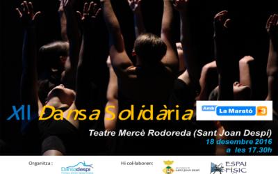 Arriba de nou la Dansa Solidària amb La Marató de TV3…